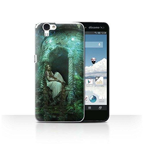 Official Elena Dudina Phone Case / Cover for Sharp Aquos Zeta SH-01F/Docomo / Golden Hair Design / Fairy Tale Character Collection (Docomo Sharp Aquos compare prices)