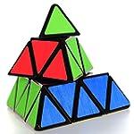 Coolzon Triangle Pyramid Pyraminx Mag...