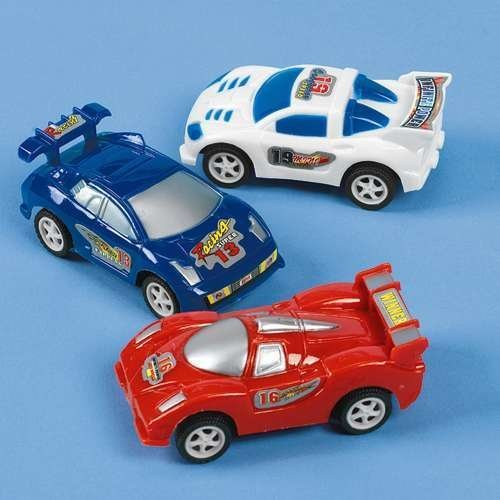 Pull Back Racing Cars - 12 per unit - 1
