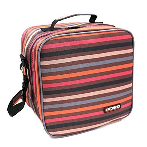 kosox-insulated-lunch-tote-bag-picnic-cooler-bag-with-shoulder-strap-stripe