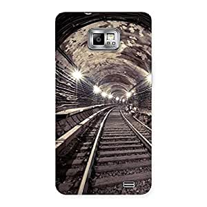 Cute Track in Tunnel Back Case Cover for Galaxy S2