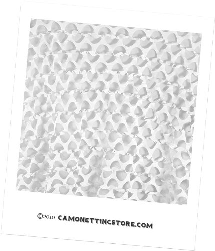 Camo SystemsTM Ultra-Lite Snow Camouflage Netting 8'X20'