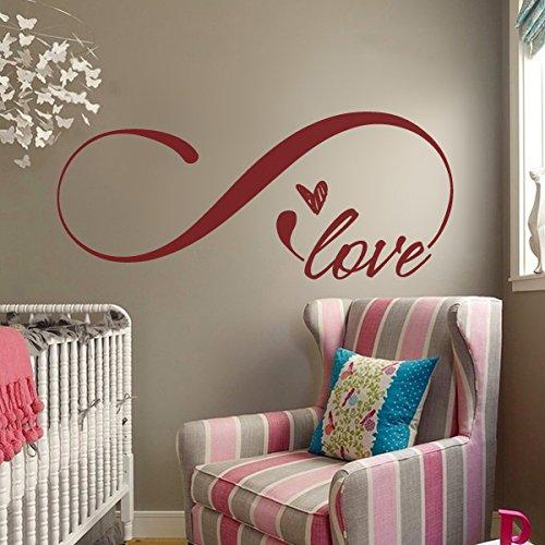 love-simbolo-de-infinito-dormitorio-adhesivo-decorativo-para-pared-con-cita-de-decor-home-decor-infi