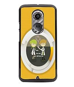 Fuson 2D Printed Quotes Designer back case cover for Motorola Moto X2 - D4580