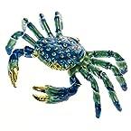 Decorative Pewter Crab Box