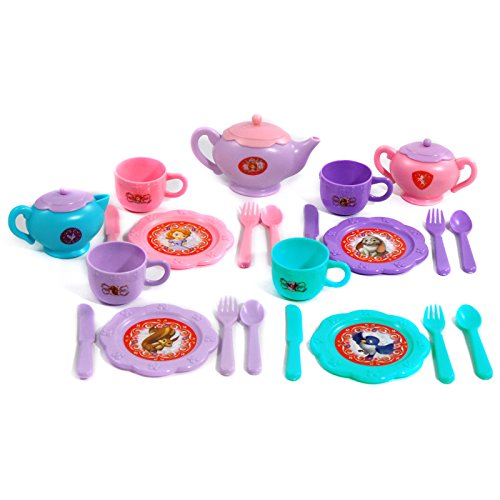 Disney Sofia The First Royal Dinner Dress-Up Tea Party Set