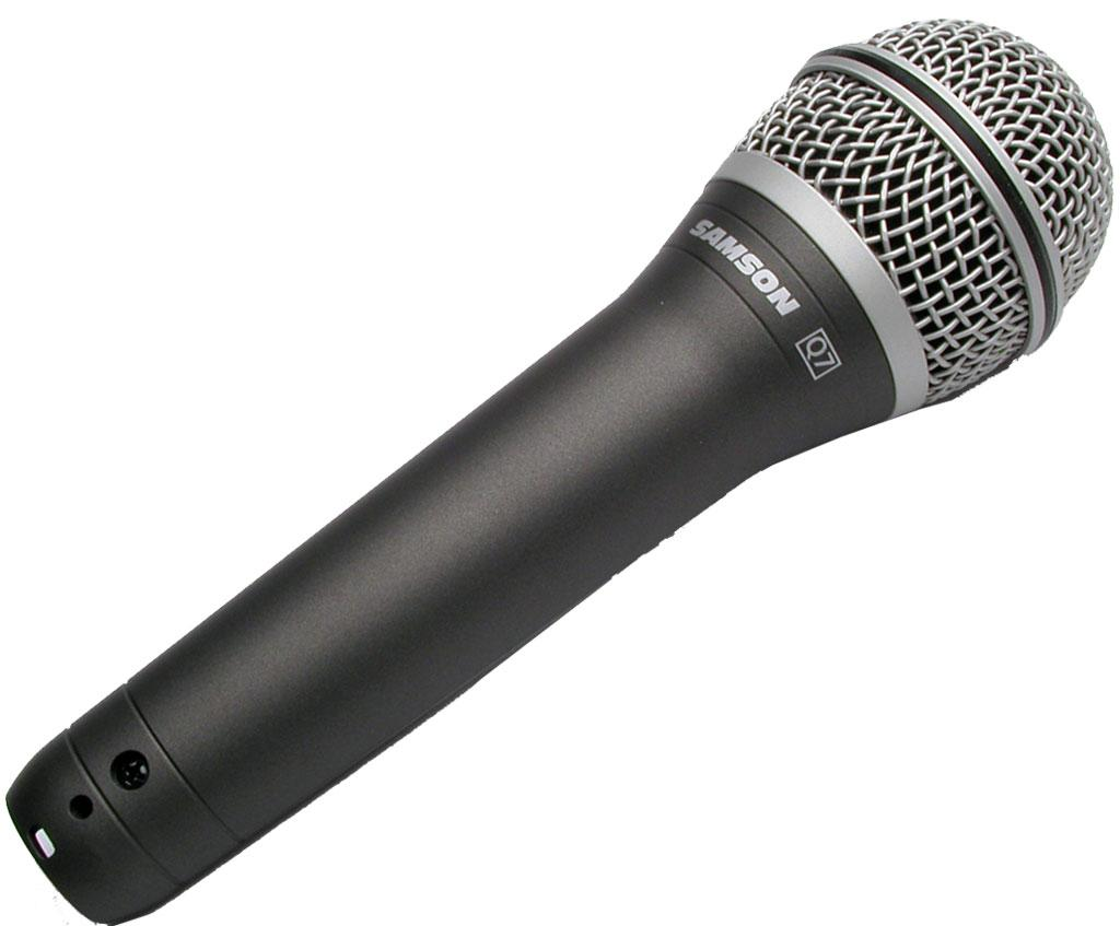 Amazon.com: Samson Q7 Handheld Dynamic Microphone: Musical Instruments