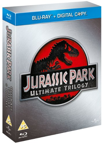 Jurassic Park Ultimate Trilogy (Blu-ray + Digital Copies)[Region Free]
