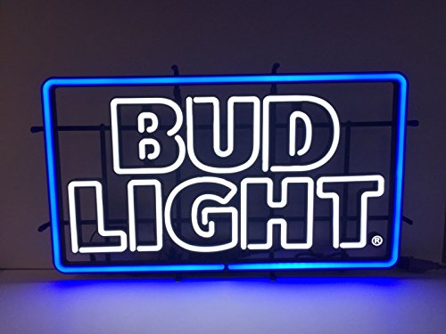 BUD LIGHT Beer - LED OPTI NEON Sign - New 2016 Retro Design -