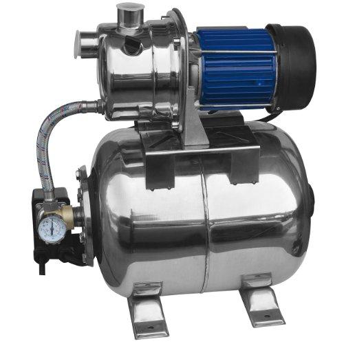 Rotfuchs Edelstahl Hauswasserwerk GPS602 600W 3000 l/h