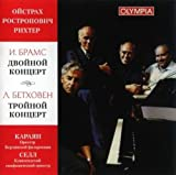 Rostropovich Mstislav, Oistrakh David, Richter Sviatoslav Karajan Herbert von BRAHMS, Double Concerto for Violin & Cello in A minor, Op.102. BEETHOVEN,