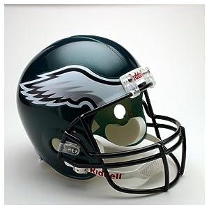 Philadelphia Eagles Riddell Deluxe Replica Helmet by Caseys