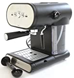 Kitchen - Charles Jacobs 15 Bar Pump Coffee - Espresso Italian New Design Machine in Black
