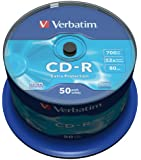 Verbatim 43351 700MB 52x Extra Protection CD-R - 50 Pack Spindle