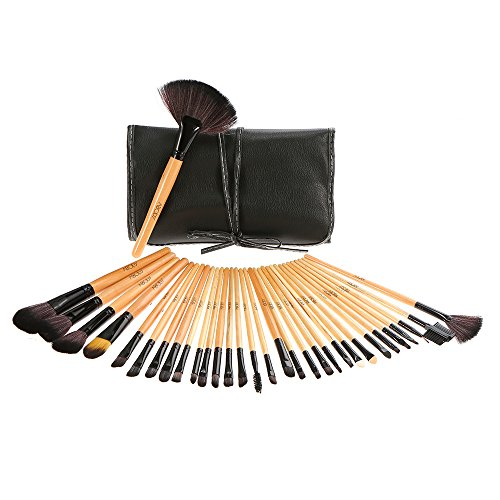 Abody Professionale Make Up Set - 32 PCS Trucco Cosmetica spazzole di trucco set Pennelli trucco