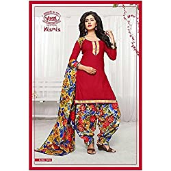 Vivel Women's Unstitched Cotton dress material (SS_5 Pack of 3_Large)