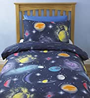 Space Glow in The Dark Bedset