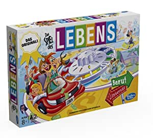 Hasbro 14529398 - Spiel des Lebens, Edition 2014, Familienspiel
