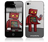 Music Skins iPhone 4用フィルム  Explodingdog - I Hate Technology  iPhone 4  MSIP4G0072