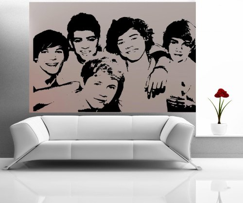 Perfect ONE DIRECTION: FACES~ WALL DECAL, HOME DECOR 23 Part 28