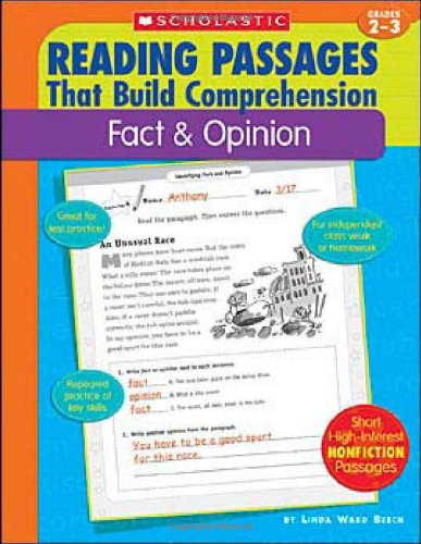 Fact & Opinion (Reading Passages That Build Comprehensio) PDF