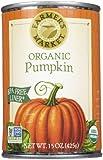 Farmer's Market Foods Organic Canned Pumpkin, 15 oz, 2 pk