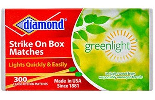 diamond-strike-on-box-greenlight-matches-300-count