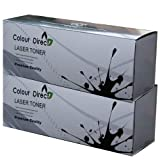 2 X ColourDirect Black Toner Cartridge TN1050 for Brother DCP-1510 DCP-1512 HL-1110 HL-1112 MFC-1810 printers