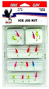 Eagle Claw Assorted Ice Jig Kit