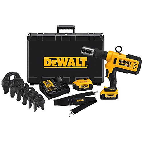 DEWALT-DCE200M2K-20V-Plumbing-Pipe-Press-Tool-Kit-with-Crimping-Heads