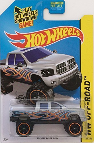 2014 Hot Wheels Hw Off-Road Dodge Ram 1500 by Mattel