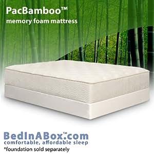 Amazon.com: Bed In A Box PacBamboo GEL Memory Foam ...