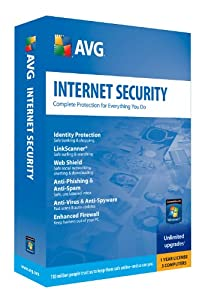 AVG Internet Security 3 User - 1 Year Subscription