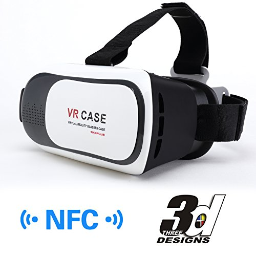 Purchase Virtual Reality Headset, Ovinm 3D VR Virtual Reality Glasses Cardboard BOX For 3D Movies an...