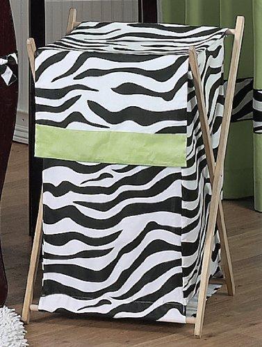 Bebés y Niños Lime Funky Zebra Lavandería ropa sucia
