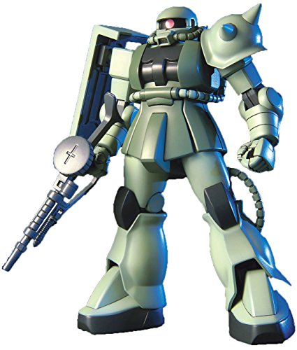 "Bandai Hobby HGUC 1/144 #40 ZAKU II ""Mobile Suit Gundam"" Model Kit - 1"