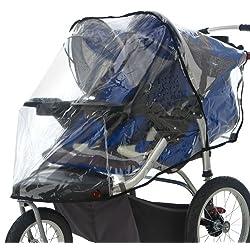 Weather Shield Double for Swivel Wheel Jogger/Stroller