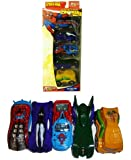 SPIDER-MAN 1:64 Die Cast Pack of 5 Assorted Pieces RACING CARS