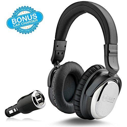 NoiseHush i7 Aviator Headphones with Active Noise Cancelling