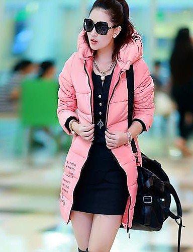 VU*LK 2014 di nuovo modo di stile medio lunghi giacca o trench femminile o giù di usura , screen color , l