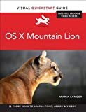 img - for OS X Mountain Lion: Visual QuickStart Guide book / textbook / text book