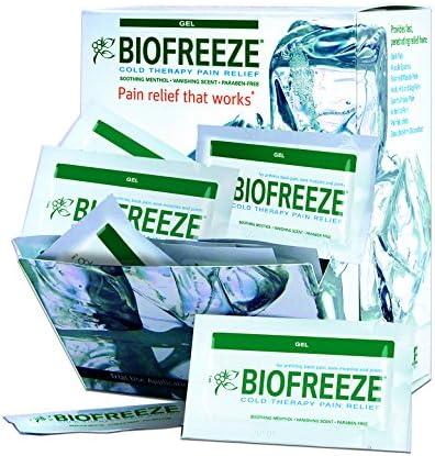 100 Count Biofreeze Pain Relief Gel