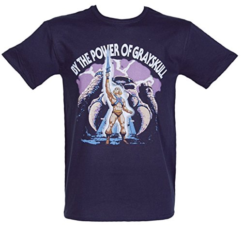 Mens By The Power Of Grayskull He Man T Shirt - S to XXXL