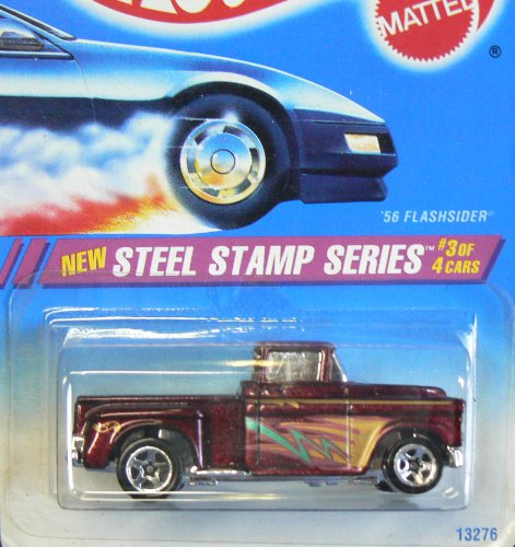 Steel Stamp Series #3 '56 Flashsider 5-Spoke Wheels #289 Collectible Collector Car Mattel Hot Wheels - 1