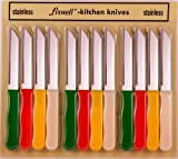 12pc Fixwell Knives - New! Official Listing with Factory Warranty - Made in Germany - Stainless Steel