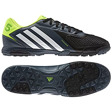 Adidas freefootball x-ite [BLACK1/Running White/Electricity] (9.5)