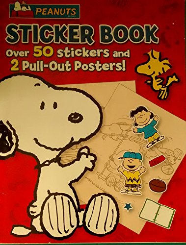 PEANUTS Sticker Book With Posters (New)