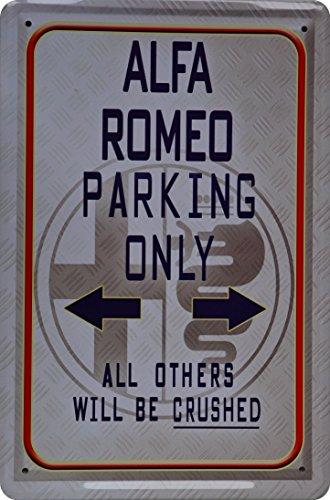 plaque-de-tole-20-x-30-alfa-romeo-parking-only-metal-sign-xp74