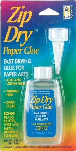 Beacon Zip Dry Paper Glue 2 Ounce