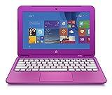 HP Stream 11.6 inch Laptop, Intel N2840 2.16GHz Dual-Core, 2GB DDR3L, 32GB Solid State Drive, Windows 8.1, Magenta (Certified Refurbished)